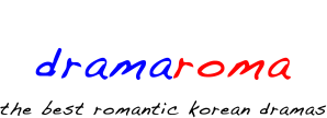 dramaroma the best romantic korean dramas logo