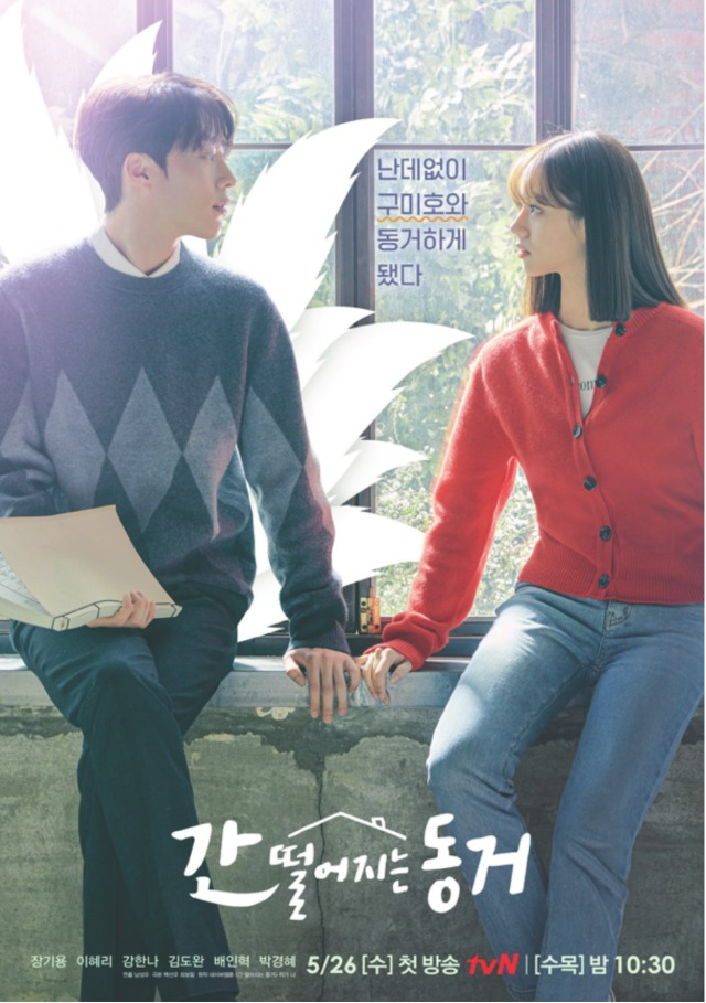 Poster for korean drama my roommate is a gumiho featuring Jang Ki Yong and Lee Hye Ri